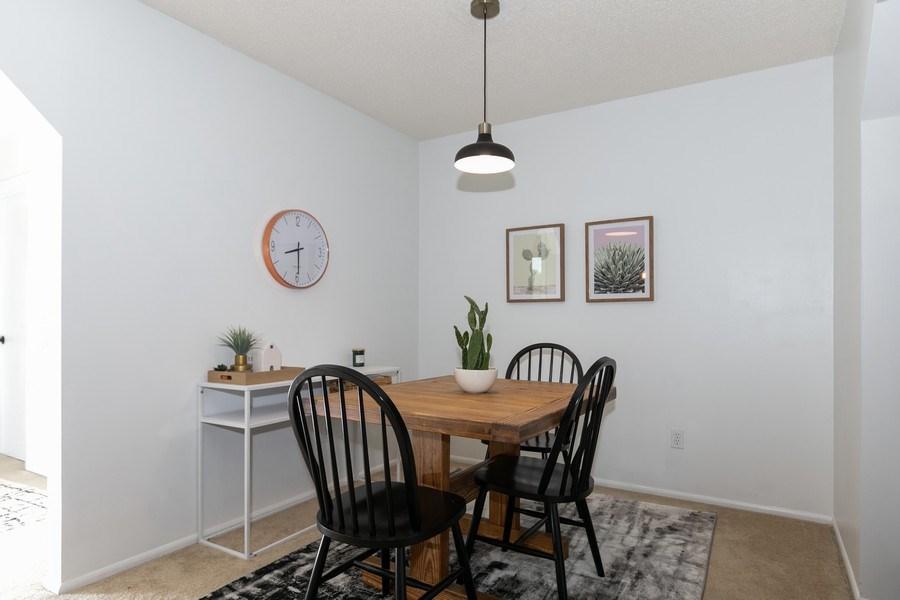 Real Estate Photography - 1503 128th Lane NE, Blaine, MN, 55449 - Dining Area