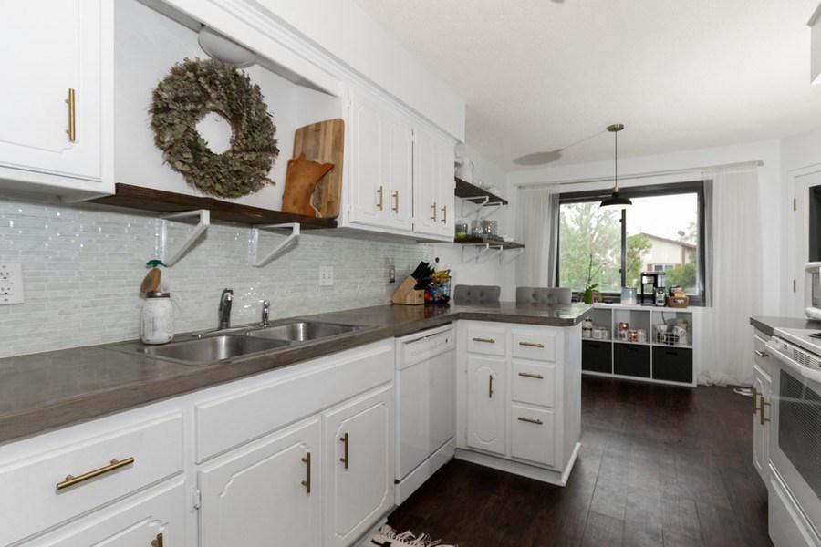 Real Estate Photography - 1503 128th Lane NE, Blaine, MN, 55449 - Kitchen