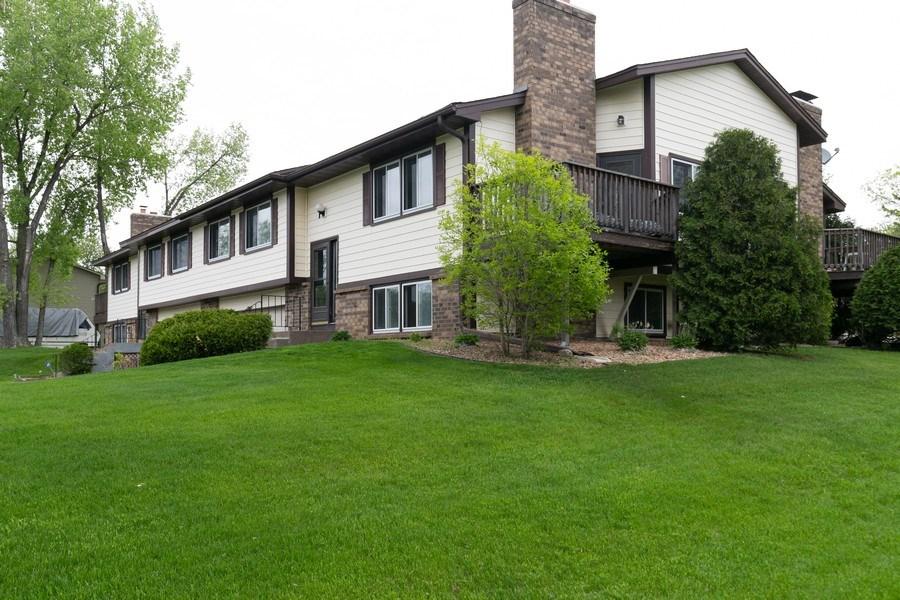 Real Estate Photography - 1503 128th Lane NE, Blaine, MN, 55449 - Side View