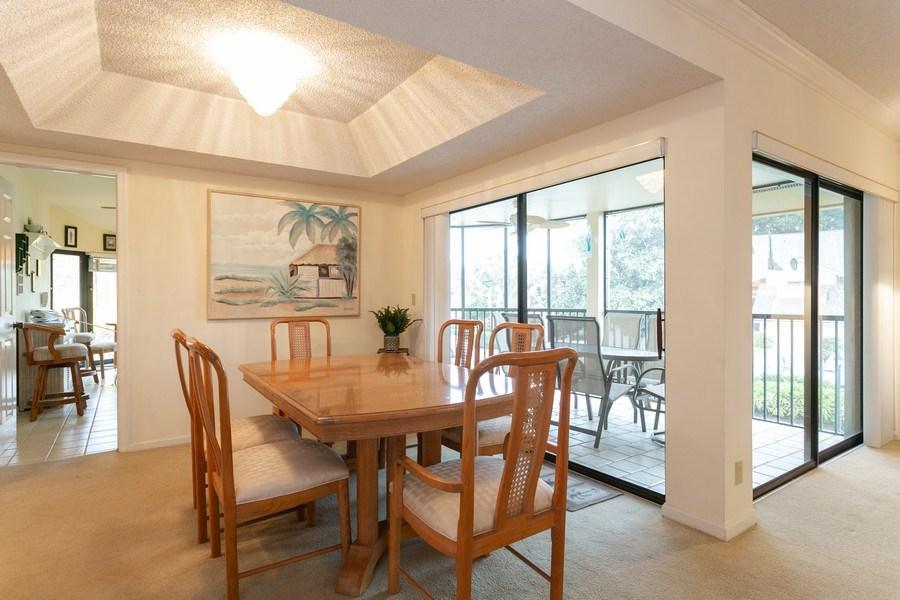 Real Estate Photography - 17109 WATERBEND DR 222, JUPITER, FL, 33477 - Dining Room