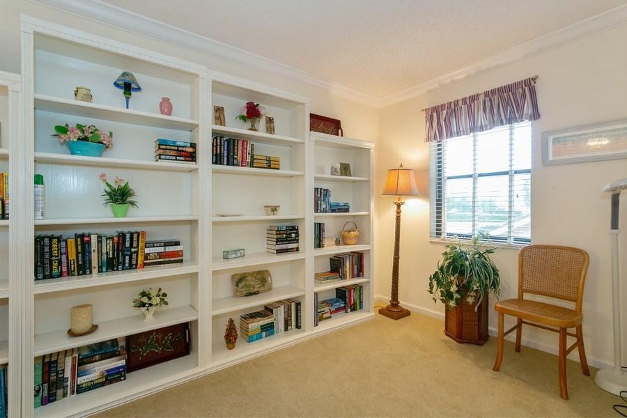 Real Estate Photography - 17109 WATERBEND DR 222, JUPITER, FL, 33477 - Den
