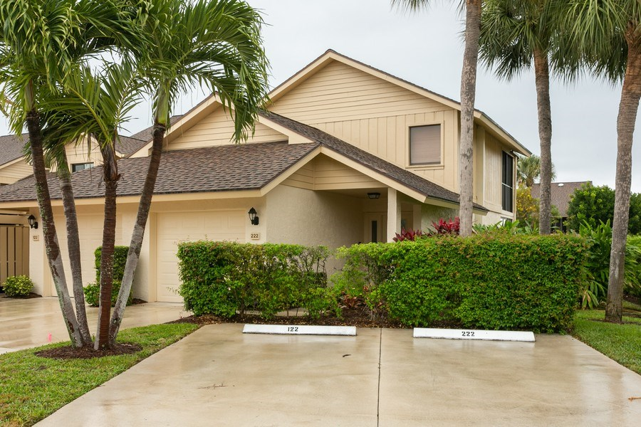 Real Estate Photography - 17109 WATERBEND DR 222, JUPITER, FL, 33477 - Front View