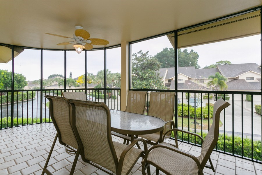 Real Estate Photography - 17109 WATERBEND DR 222, JUPITER, FL, 33477 - Patio