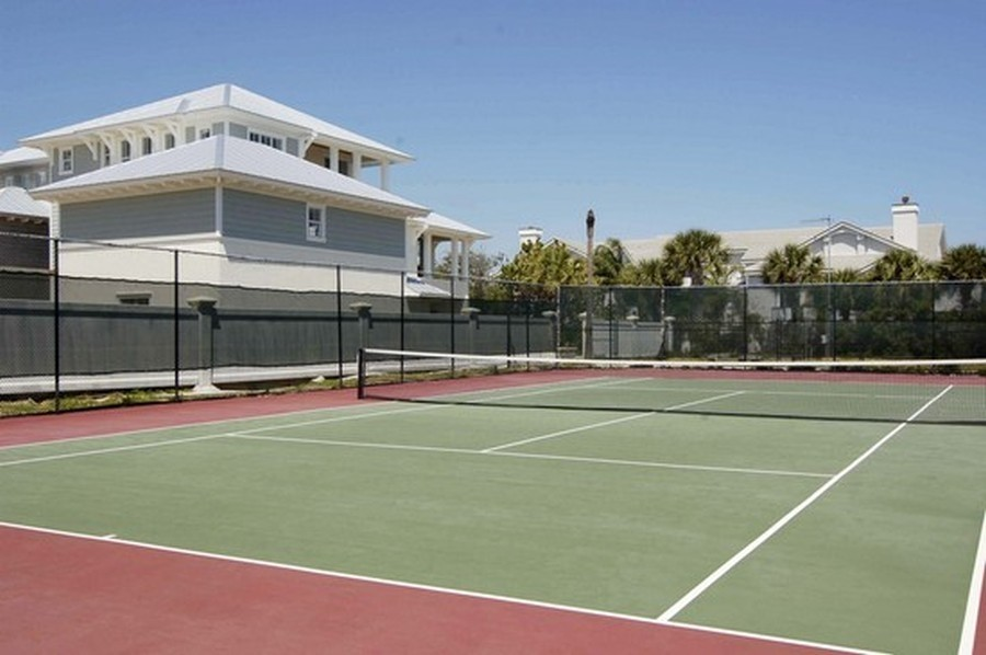 Real Estate Photography - 301 S. SEAS DR., APT. 302, JUPITER, FL, 33477 - COMMUNITY TENNIS COURTS