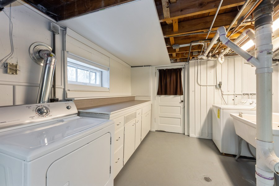 Real Estate Photography - 543 Orchard Ct, Des Plaines, IL, 60016 - Laundry Room