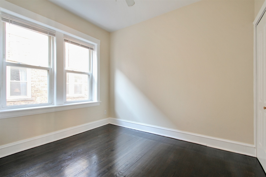Real Estate Photography - 4822 W. Hutchinson Street, 9B, Chicago, IL, 60641 - 2nd Bedroom