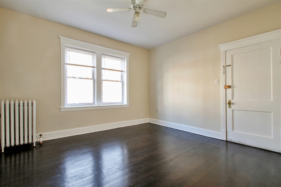 Real Estate Photography - 4822 W. Hutchinson Street, 9B, Chicago, IL, 60641 - Living Room