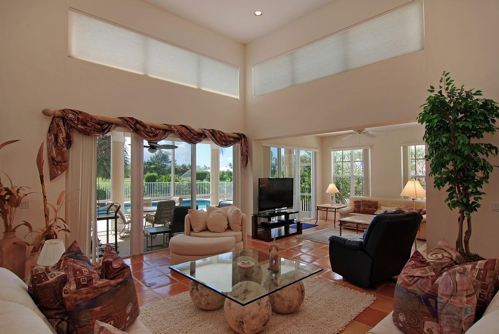 Real Estate Photography - 7000 SE Lakeview, Stuart, FL, 34996 - Living Room