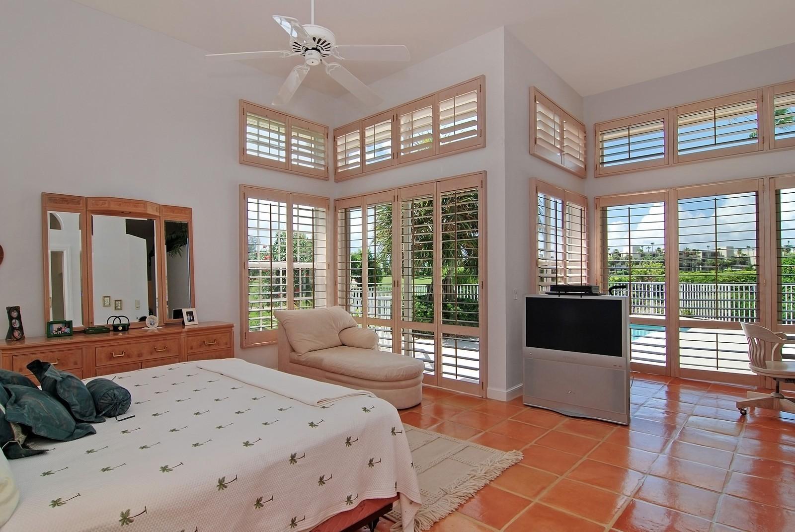 Real Estate Photography - 7000 SE Lakeview, Stuart, FL, 34996 - Master Bedroom