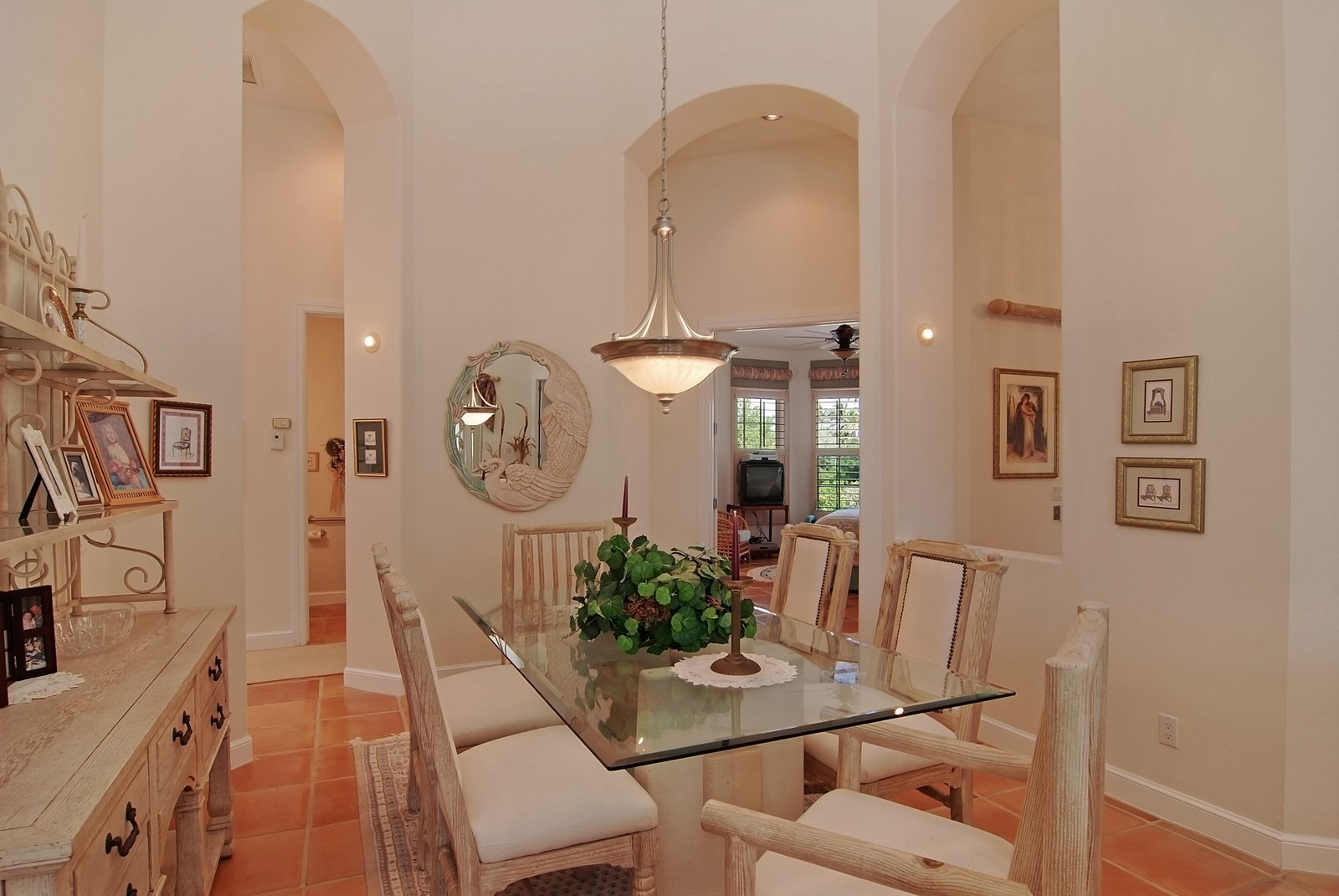 Real Estate Photography - 7000 SE Lakeview, Stuart, FL, 34996 - Dining Room