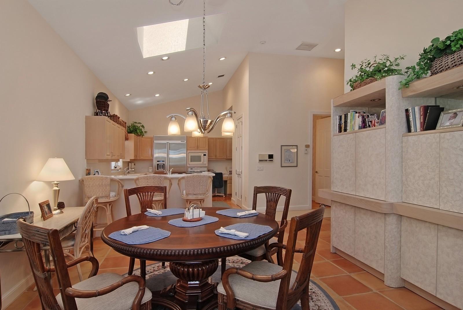 Real Estate Photography - 7000 SE Lakeview, Stuart, FL, 34996 - Breakfast Nook