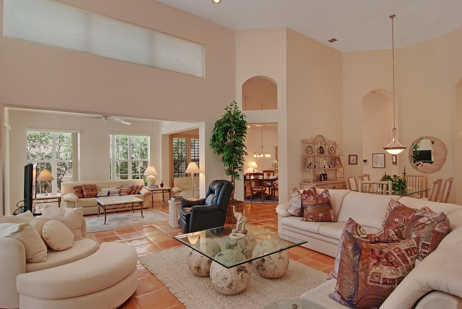 Real Estate Photography - 7000 SE Lakeview, Stuart, FL, 34996 - Living Room / Dining Room