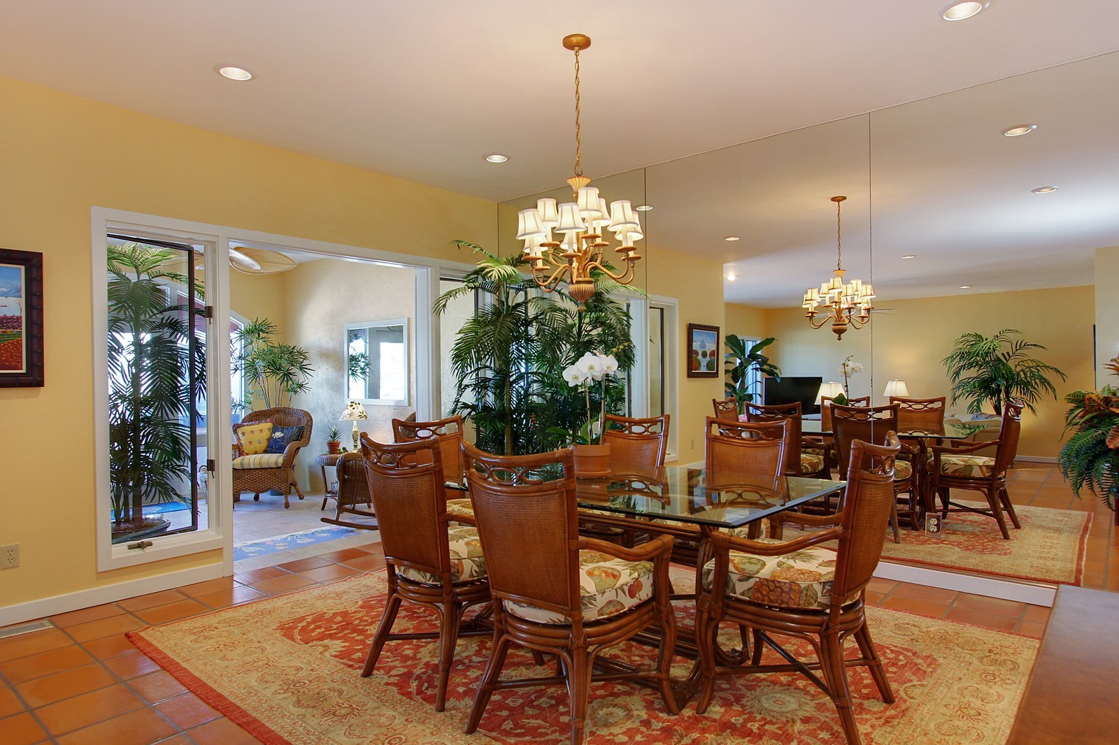 Real Estate Photography - 6509 SE South Marina Way, Stuart, FL, 34996 - Dining Room