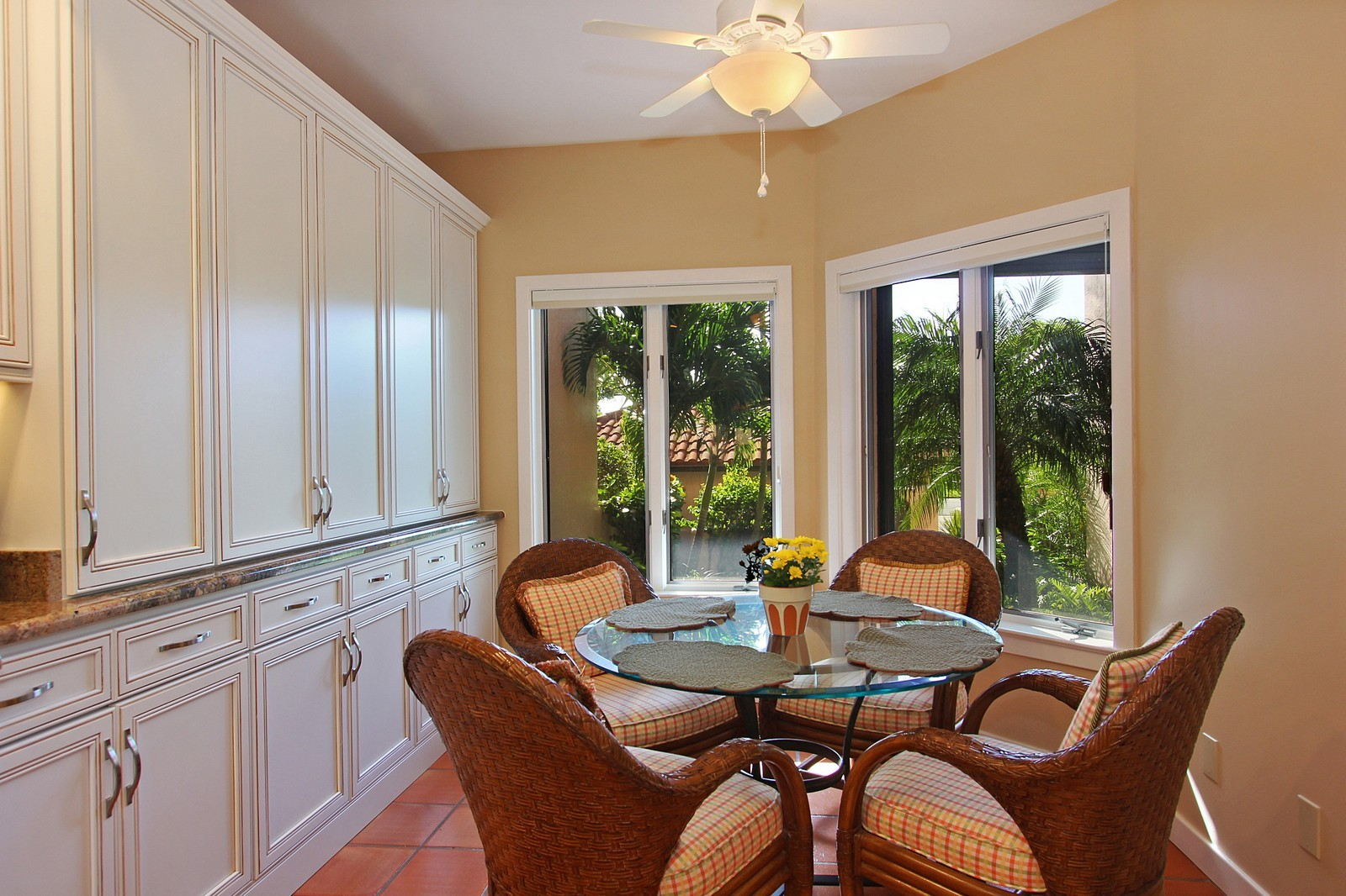 Real Estate Photography - 6509 SE South Marina Way, Stuart, FL, 34996 - Breakfast Nook