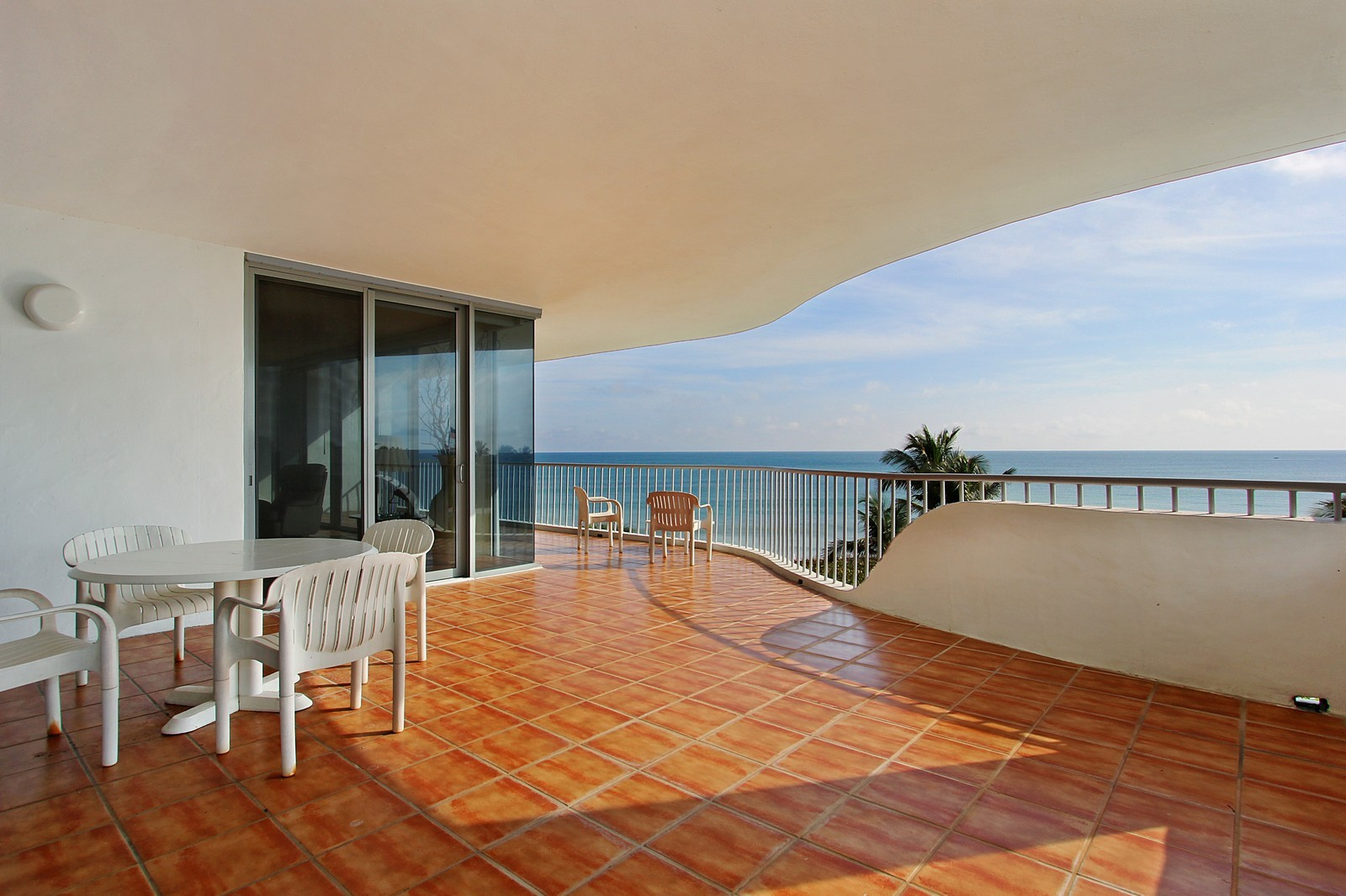 Real Estate Photography - 2001 SE Sailfish Point Blvd, Unit 402, Stuart, FL, 34996 - Balcony