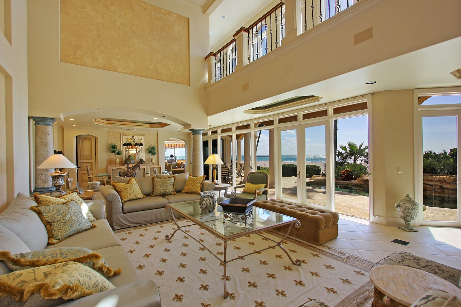 Real Estate Photography - 3097 SE Island Point Ln, Stuart, FL, 34996 - Living Room