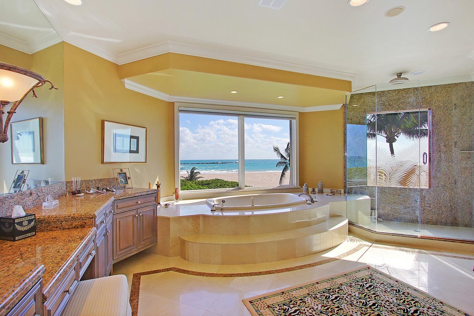 Real Estate Photography - 3097 SE Island Point Ln, Stuart, FL, 34996 - Master Bathroom