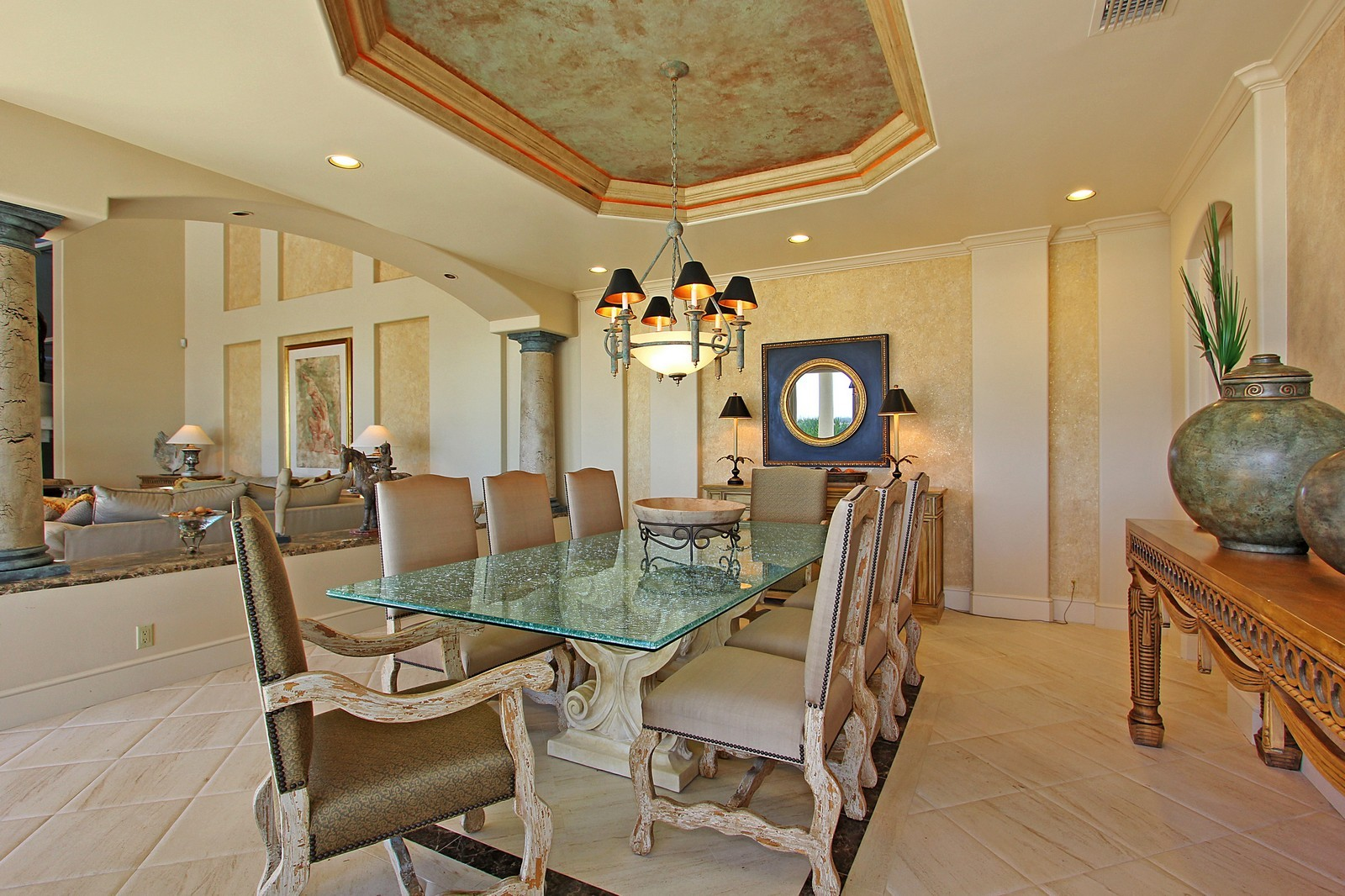 Real Estate Photography - 3097 SE Island Point Ln, Stuart, FL, 34996 - Dining Room