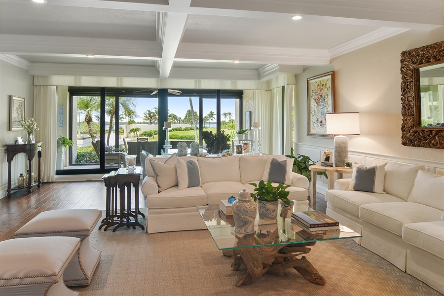 Real Estate Photography - 2814 SE Dune Drive, 2112, Stuart, FL, 34996 - Living Room