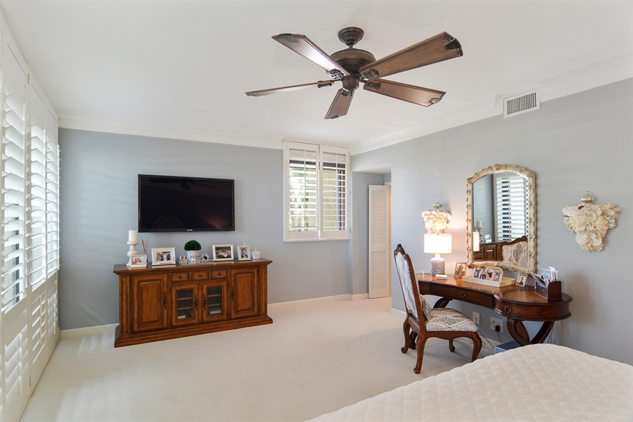 Real Estate Photography - 2814 SE Dune Drive, 2112, Stuart, FL, 34996 - Master Bedroom
