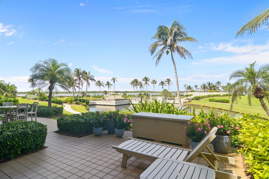 Real Estate Photography - 2814 SE Dune Drive, 2112, Stuart, FL, 34996 - View/Open Patio