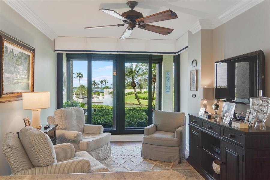 Real Estate Photography - 2814 SE Dune Drive, 2112, Stuart, FL, 34996 - Family Room/Breakfast Nook