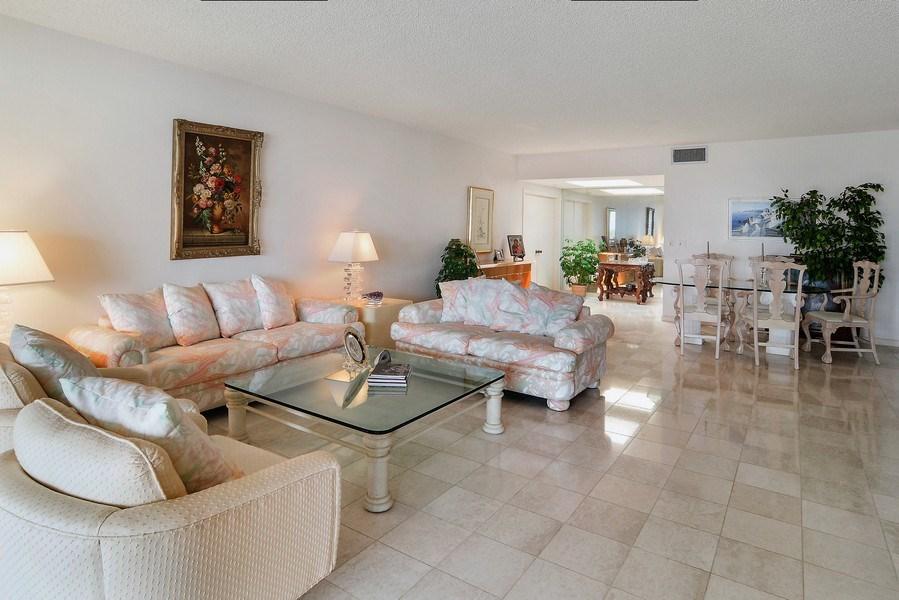 Real Estate Photography - 2816 SE Dune Drive, 2406, Stuart, FL, 34996 - Living Room / Dining Room
