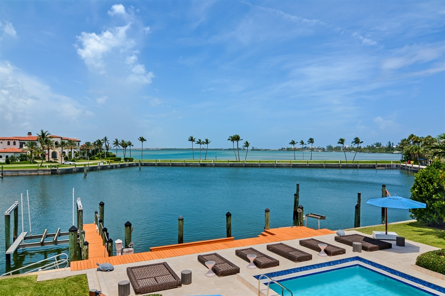 Real Estate Photography - 6879 SE South Marina Way, Stuart, FL, 34996 - Dock