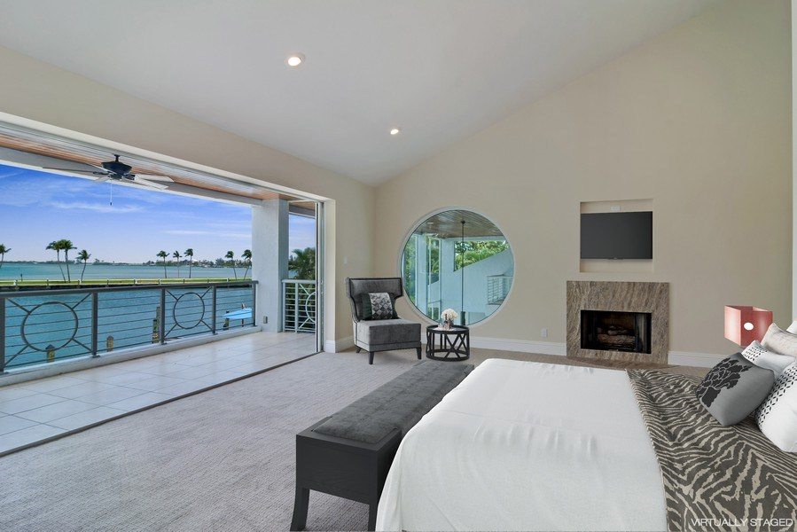 Real Estate Photography - 6879 SE South Marina Way, Stuart, FL, 34996 - Guest Suite