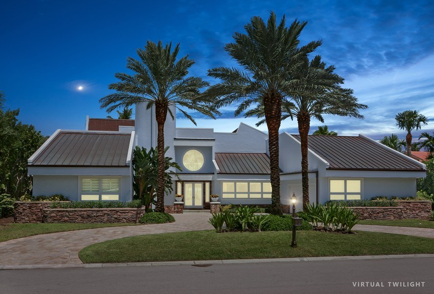 Real Estate Photography - 6879 SE South Marina Way, Stuart, FL, 34996 - Front View