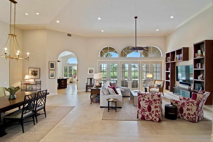 Real Estate Photography - 6967 Harbor Circle, Stuart, FL, 34996 - Living Room
