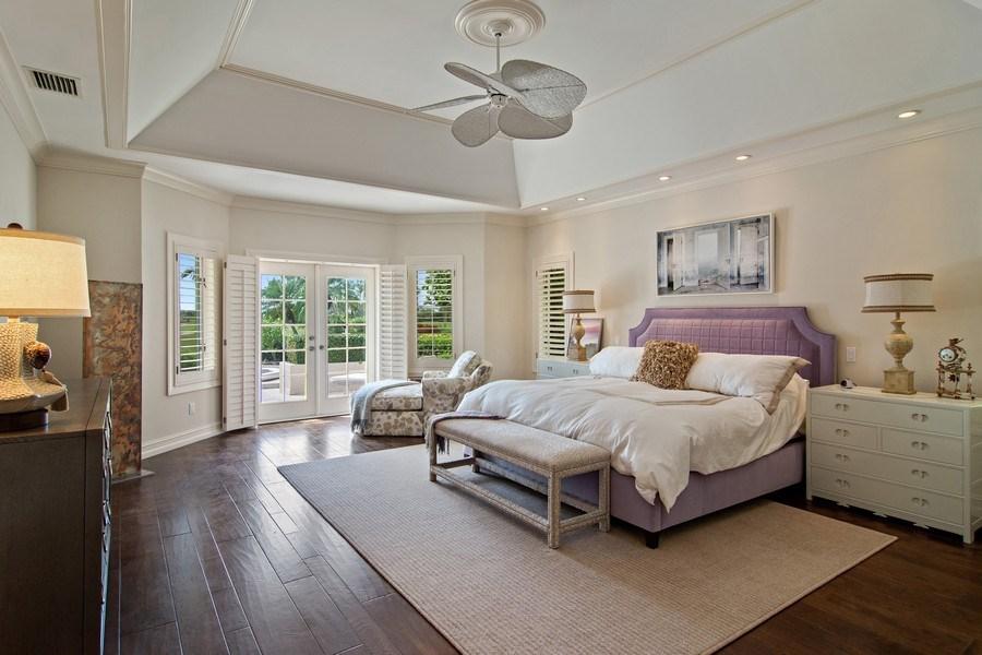 Real Estate Photography - 6967 Harbor Circle, Stuart, FL, 34996 - Master Bedroom