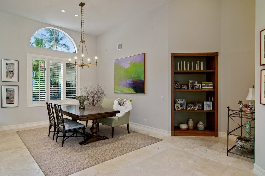 Real Estate Photography - 6967 Harbor Circle, Stuart, FL, 34996 - Dining Room