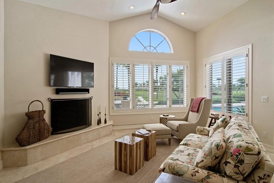 Real Estate Photography - 6967 Harbor Circle, Stuart, FL, 34996 - Family Room