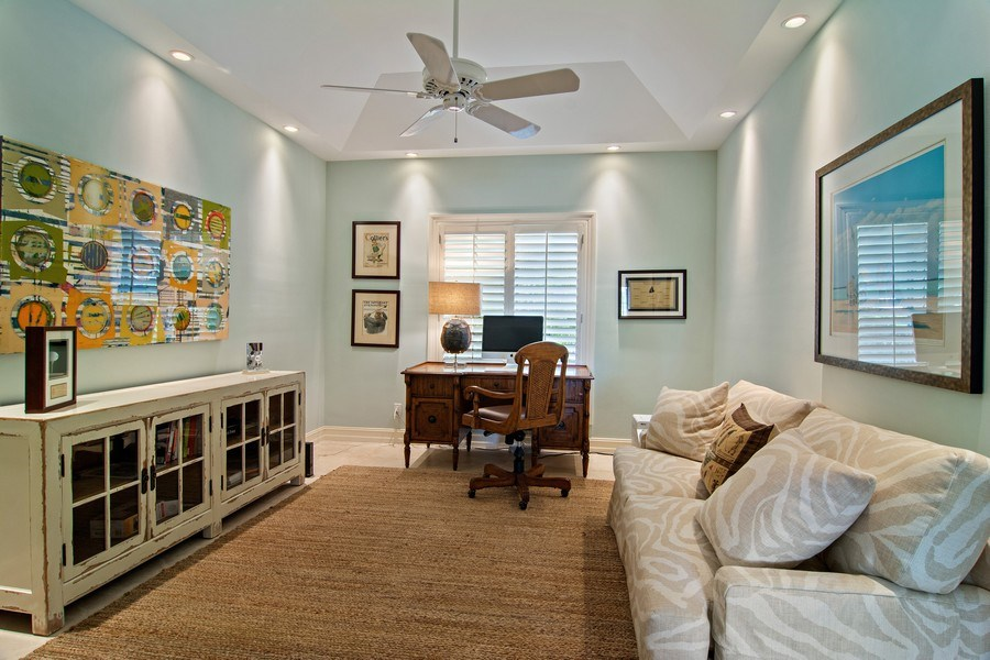 Real Estate Photography - 6967 Harbor Circle, Stuart, FL, 34996 - Office