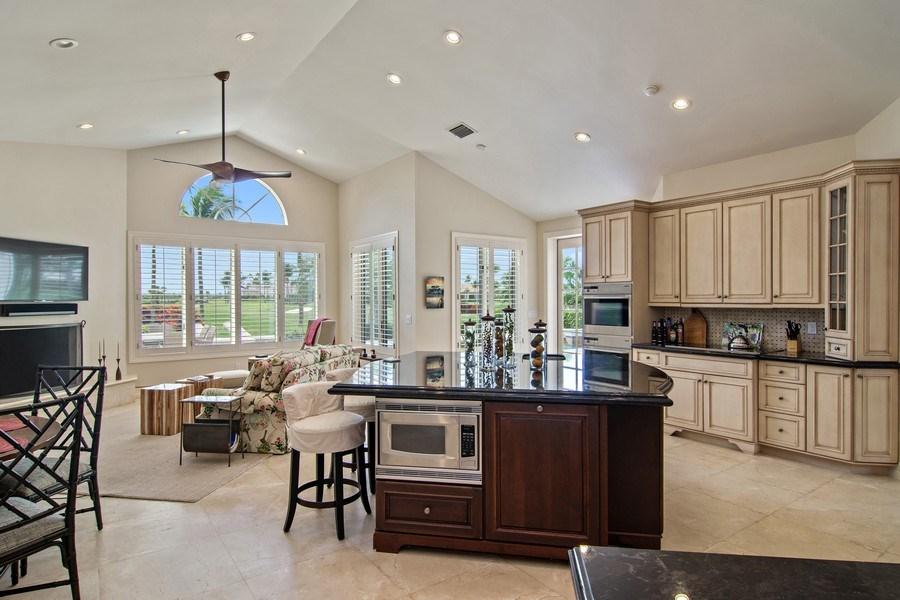 Real Estate Photography - 6967 Harbor Circle, Stuart, FL, 34996 - Family Room / Kitchen