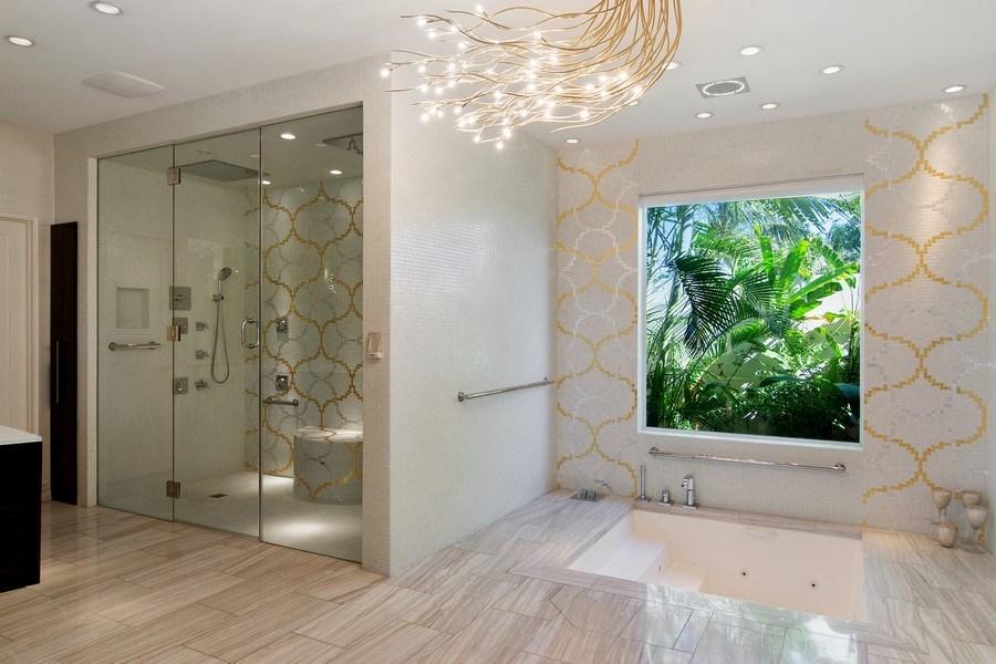 Real Estate Photography - 6900 SE Harbor Circle, Stuart, FL, 34996 - Master Bathroom