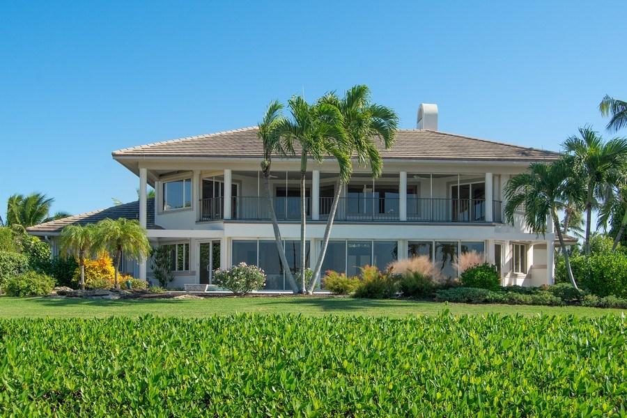 Real Estate Photography - 6900 SE Harbor Circle, Stuart, FL, 34996 - Rear View
