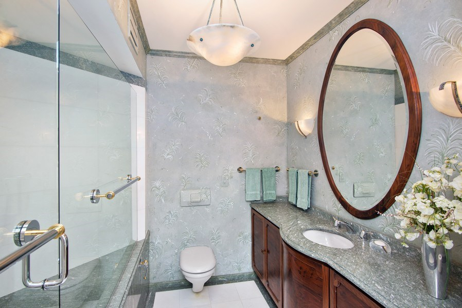 Real Estate Photography - 2824 SE Dune Drive, 2401, Stuart, FL, 34996 - Powder Room