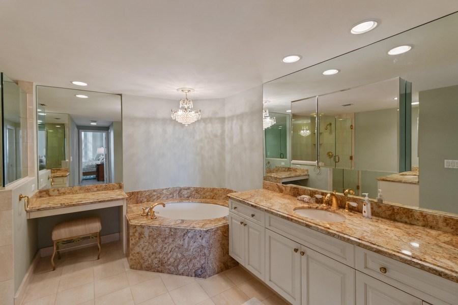 Real Estate Photography - 2802 SE Dune Drive, #1312, Stuart, FL, 34996 - Master Bathroom