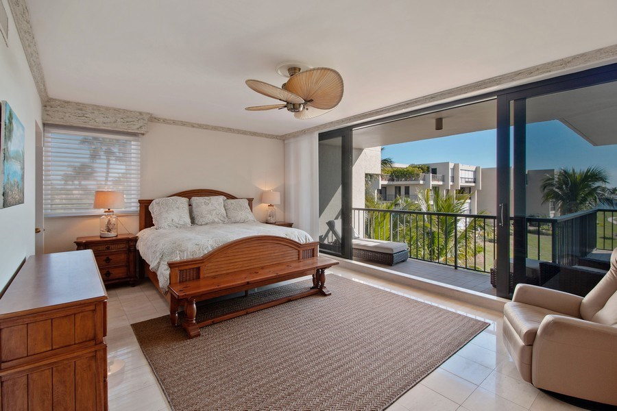 Real Estate Photography - 2802 SE Dune Drive, #1312, Stuart, FL, 34996 - Master Bedroom