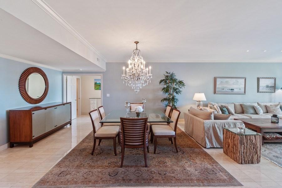 Real Estate Photography - 2802 SE Dune Drive, #1312, Stuart, FL, 34996 - Dining Room