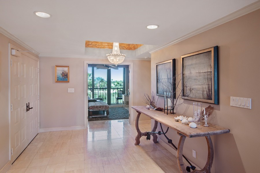 Real Estate Photography - 2802 SE Dune Drive, #1312, Stuart, FL, 34996 - Foyer