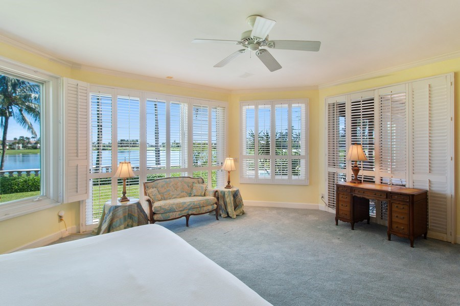 Real Estate Photography - 6401 SE Harbor Circle, Stuart, FL, 34996 - Master Bedroom