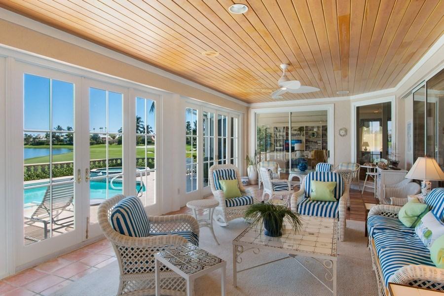 Real Estate Photography - 6401 SE Harbor Circle, Stuart, FL, 34996 - Lanai