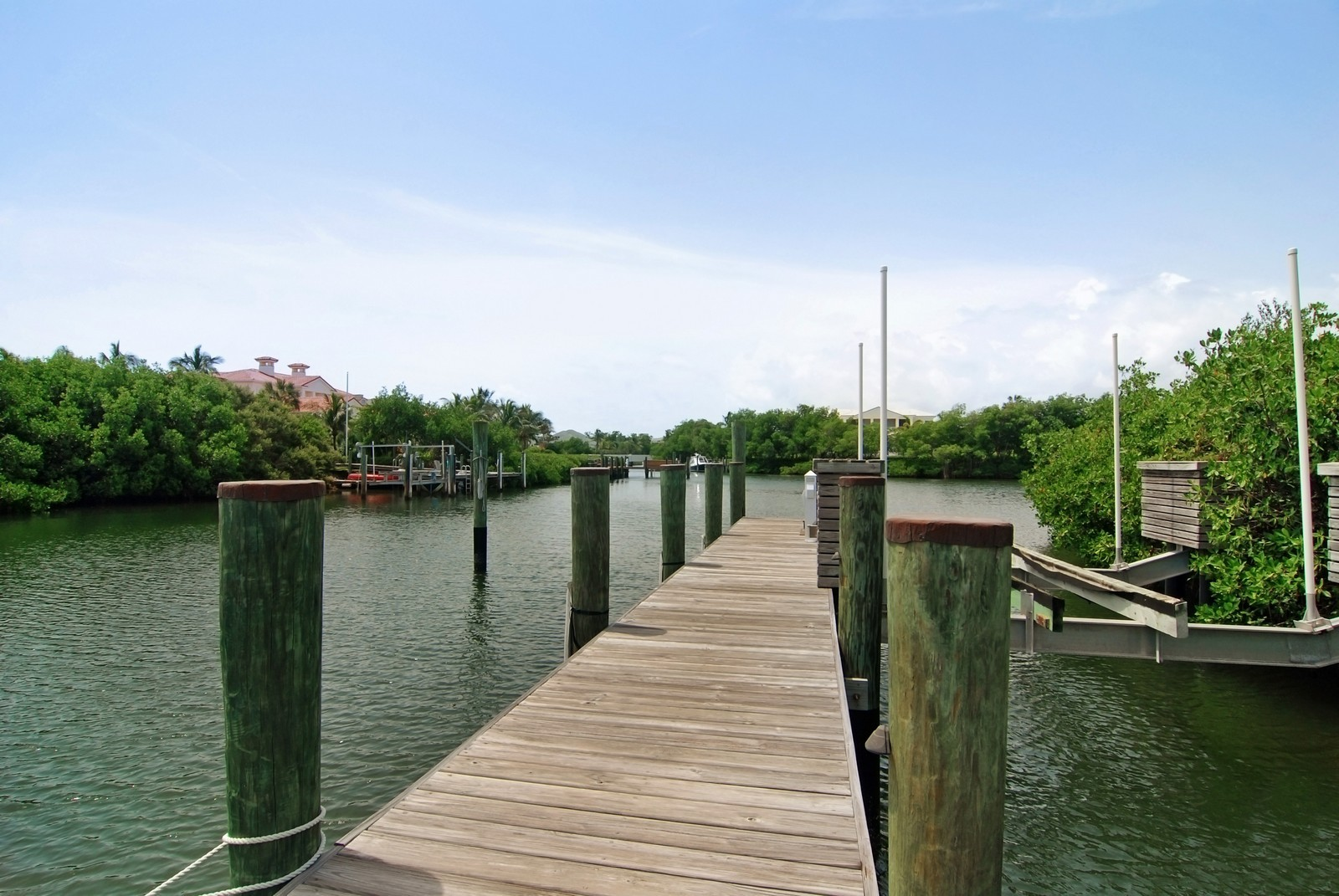 Real Estate Photography - 6874 SE Isle Way, Stuart, FL, 34996 - Dock