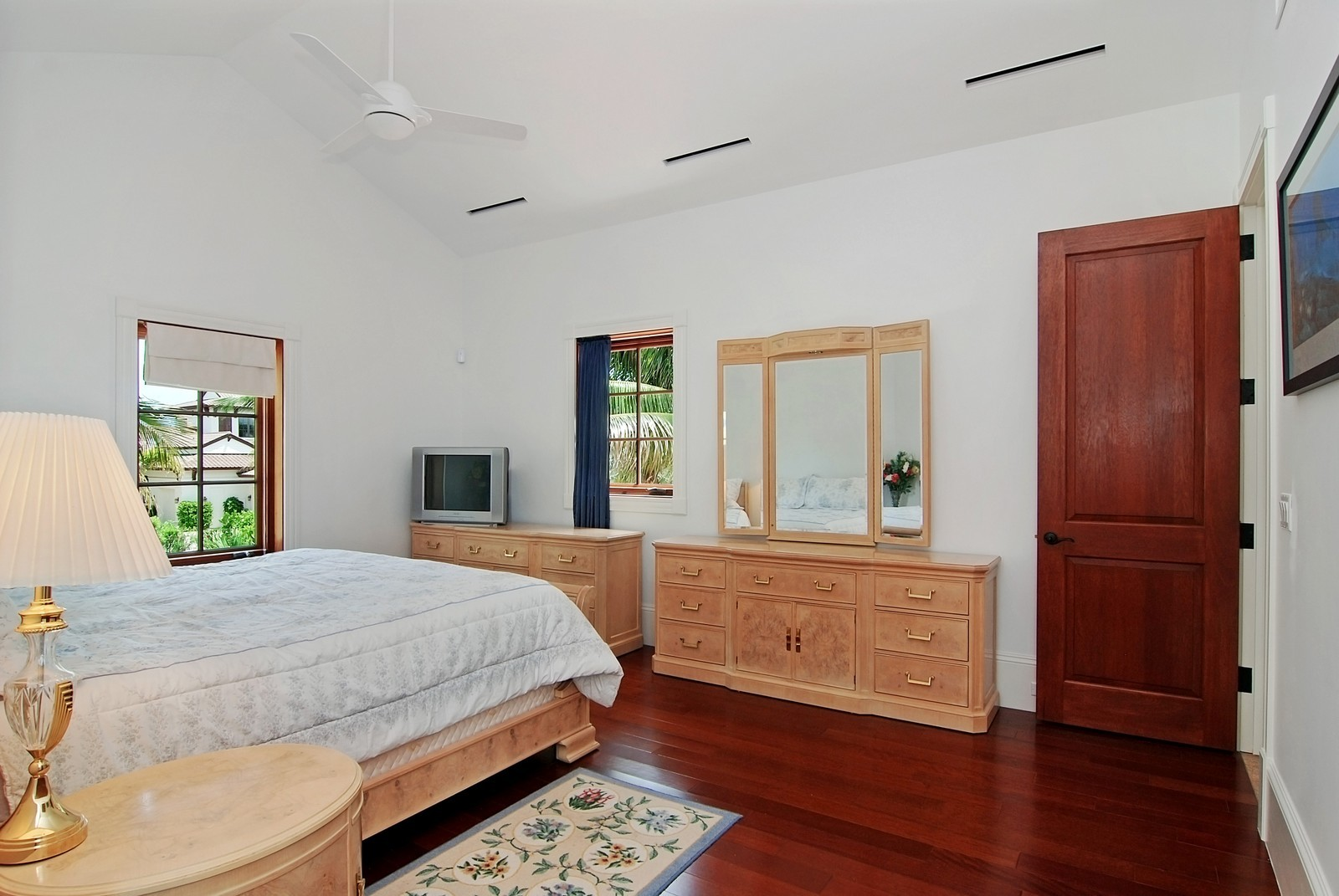 Real Estate Photography - 6874 SE Isle Way, Stuart, FL, 34996 - Guest House Bedroom