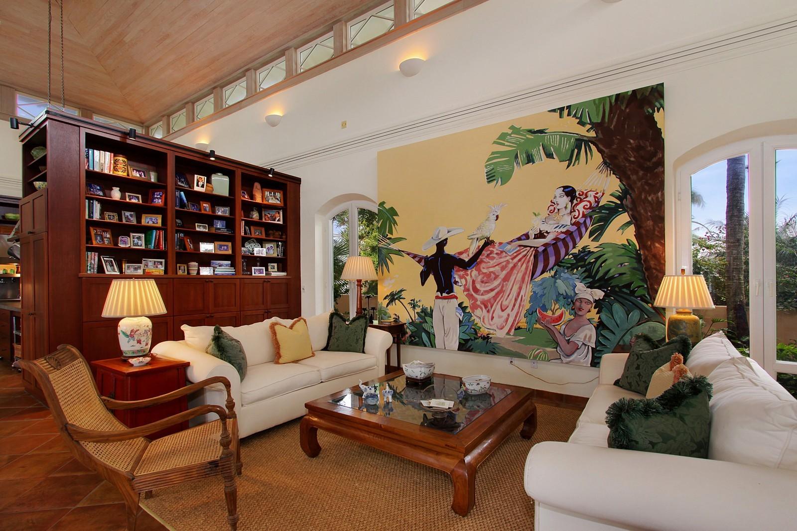 Real Estate Photography - 6840 SE Harbor Cir, Stuart, FL, 34996 - Living Room