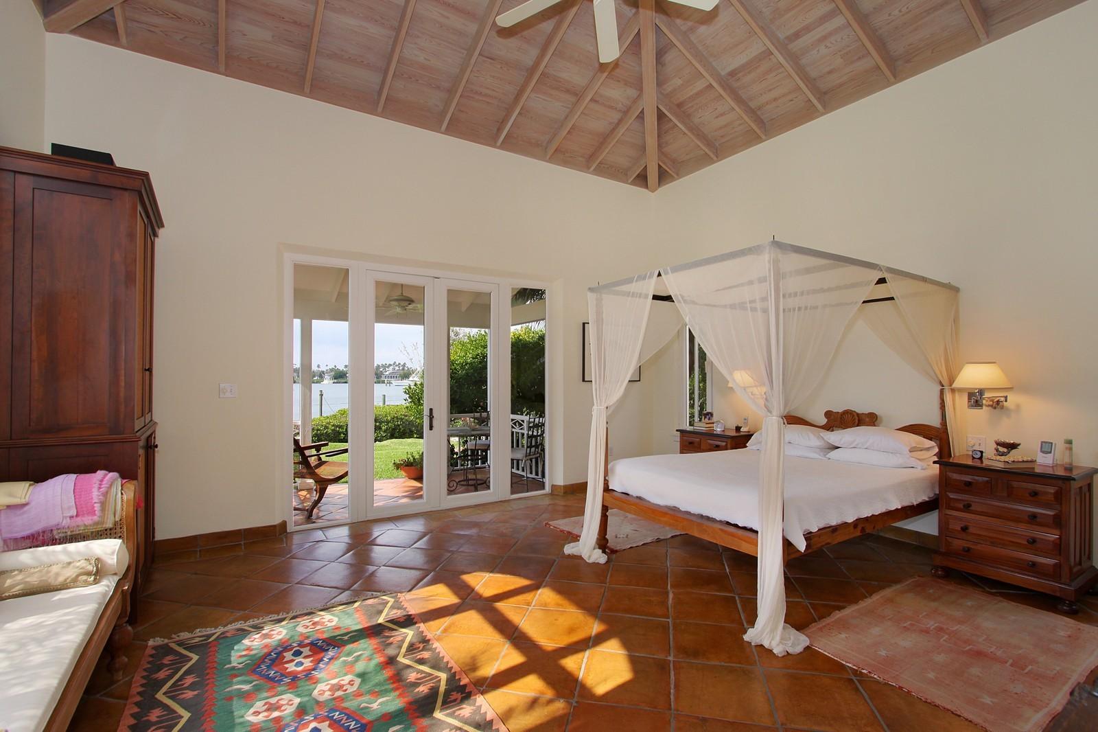 Real Estate Photography - 6840 SE Harbor Cir, Stuart, FL, 34996 - Master Bedroom