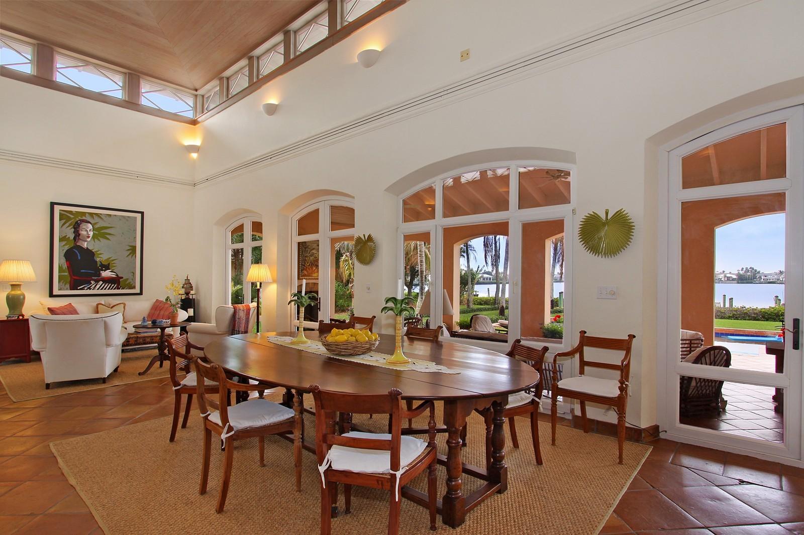 Real Estate Photography - 6840 SE Harbor Cir, Stuart, FL, 34996 - Dining Room